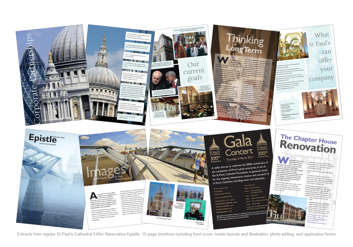 Excepts from St Paul's Cathedral Newsletters - Epistle